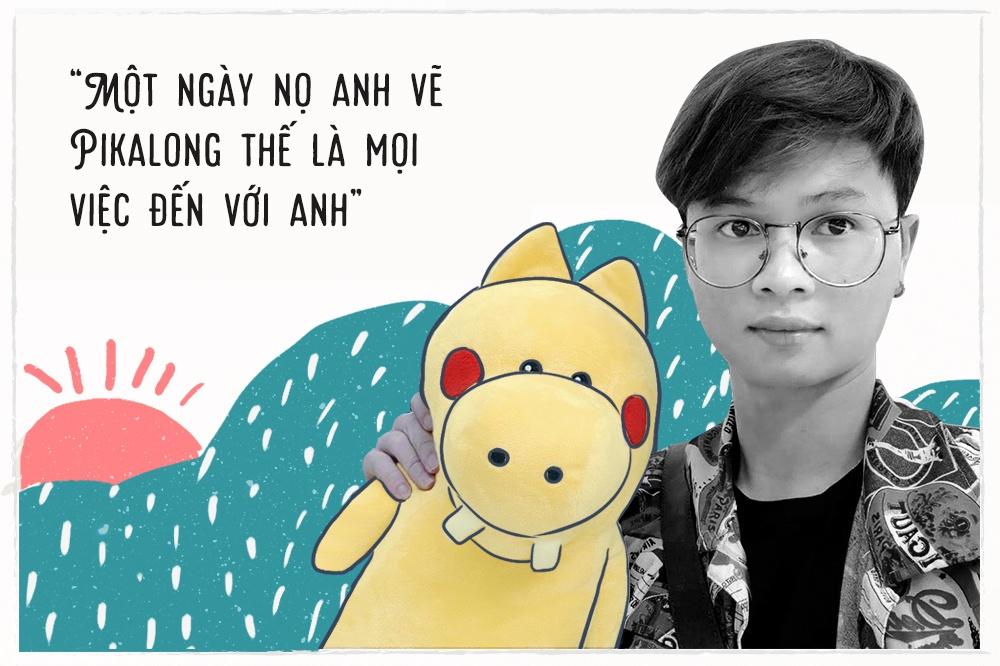 Hoa si Thang Fly: 'Nhieu nguoi noi Pikalong la an may, u thi dung ma!' hinh anh 6