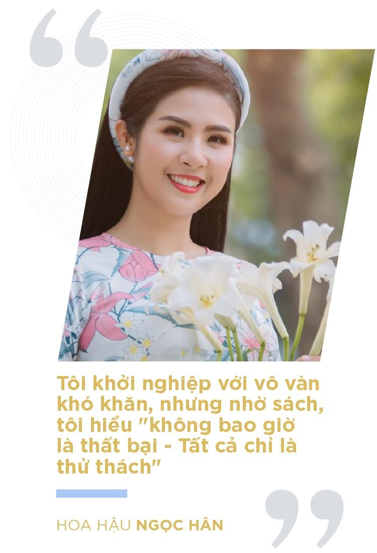 Hoa hau Ngoc Han va cau chuyen nguoi tre khoi nghiep tu sach hinh anh 4