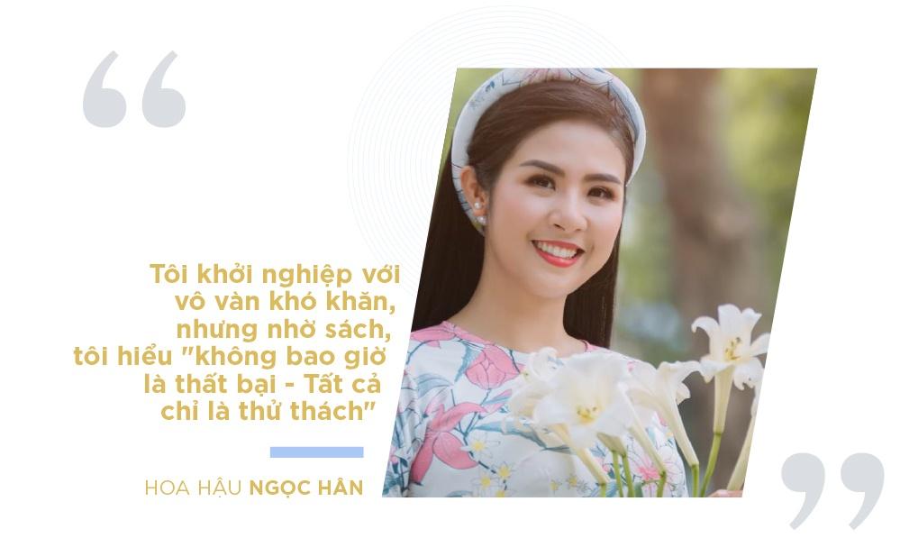 Hoa hau Ngoc Han va cau chuyen nguoi tre khoi nghiep tu sach hinh anh 5