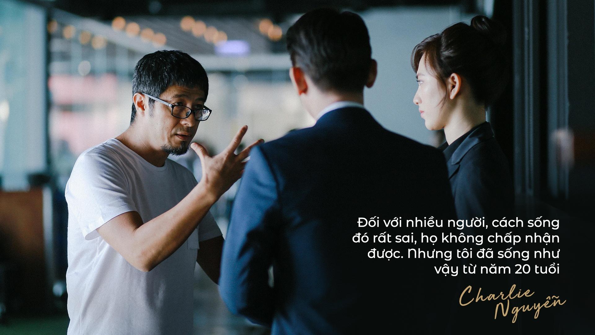 Charlie Nguyen: 'Thai Hoa chi thanh cong voi vai hai thieu nang' hinh anh 16