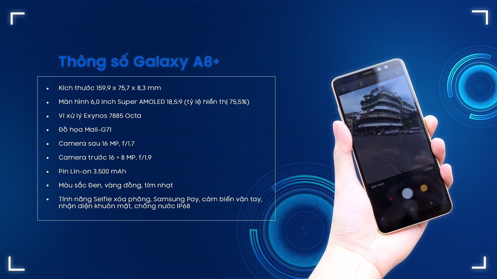 Samsung A8 anh 14
