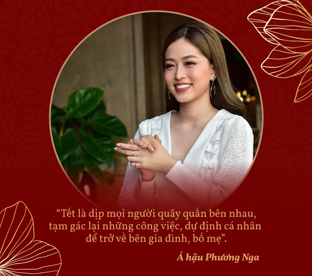 Tu Anh - Phuong Nga: Hai nang hau hien dai don Tet kieu truyen thong hinh anh 1 quote_1.jpg