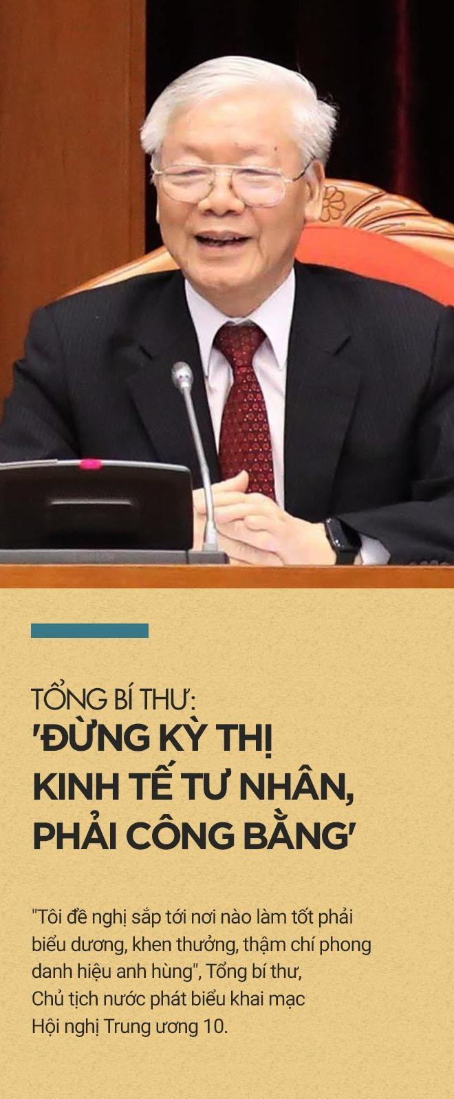 Tong bi thu: 'Dung ky thi kinh te tu nhan, phai cong bang' hinh anh 1