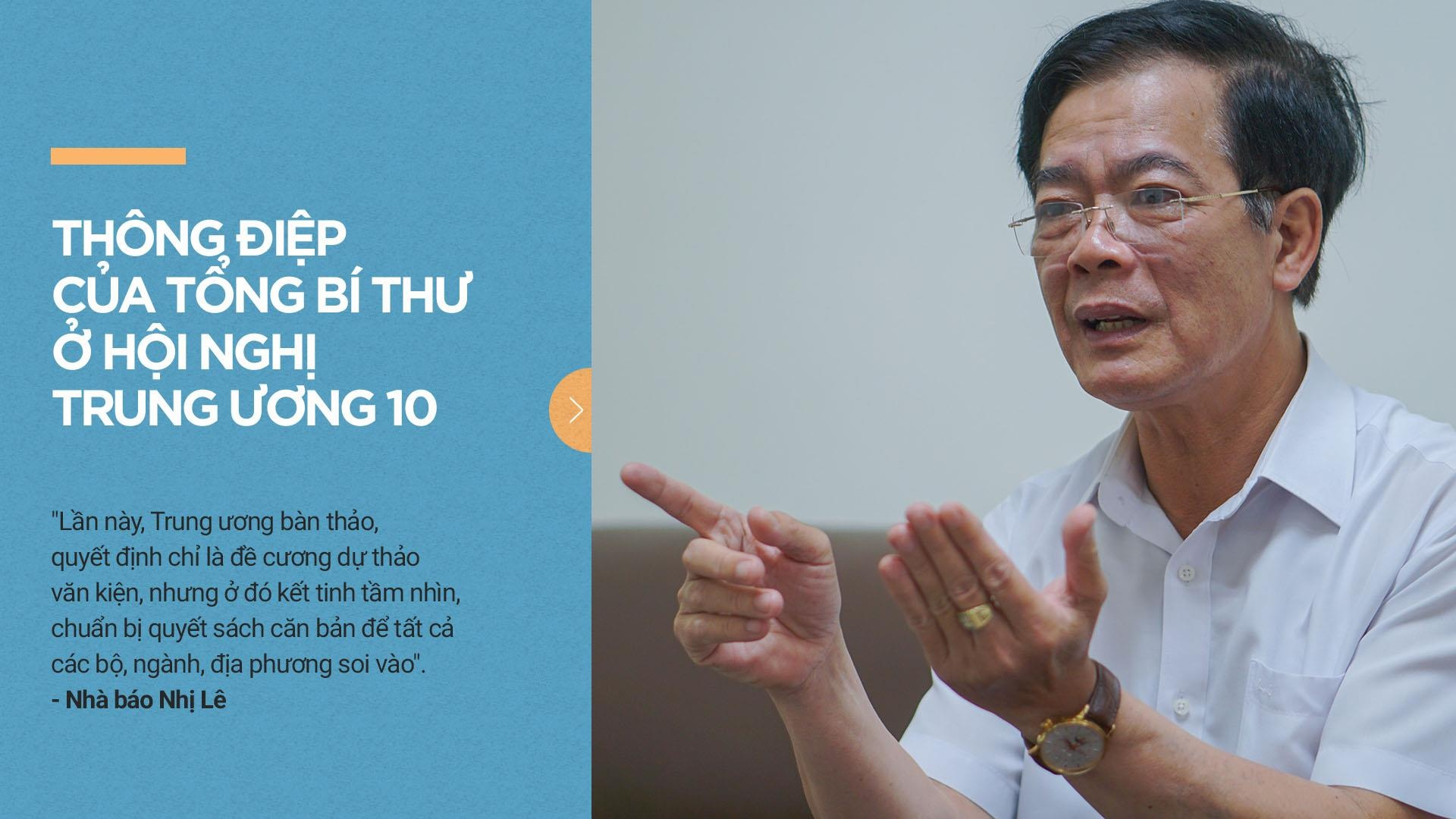 Thông điệp của Tổng bí thư ở Hội nghị Trung ương 10