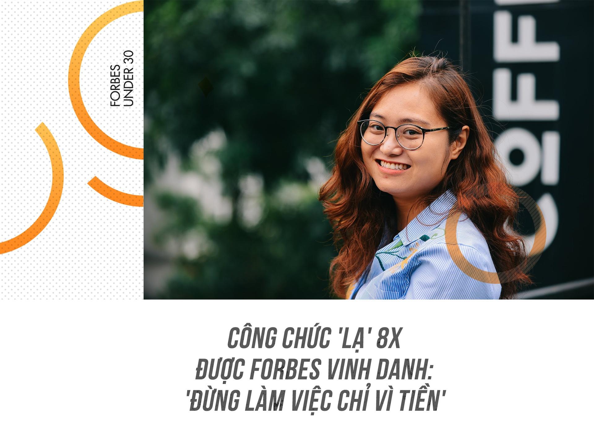 Cong chuc 'la' 8X duoc Forbes vinh danh: 'Dung lam viec chi vi tien' hinh anh 2