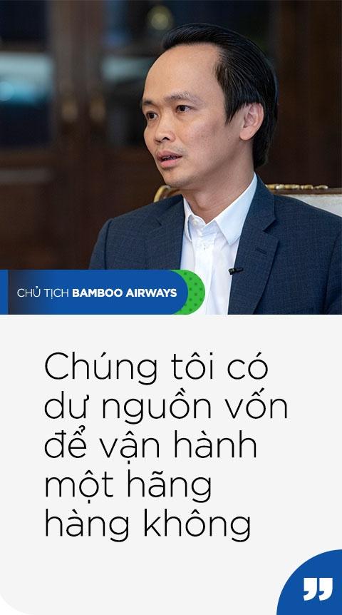 Chu tich Bamboo Airways: 'Chung toi khong lam gi voi vang' hinh anh 2 QUOTE2_TRAI_PHAI_1.jpg