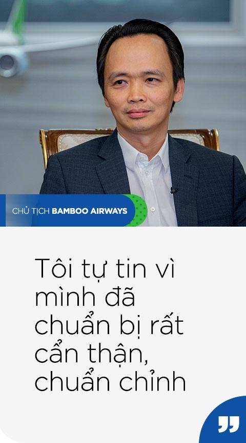 Chu tich Bamboo Airways: 'Chung toi khong lam gi voi vang' hinh anh 3 QUOTE3_TRAI_PHAI_1.jpg