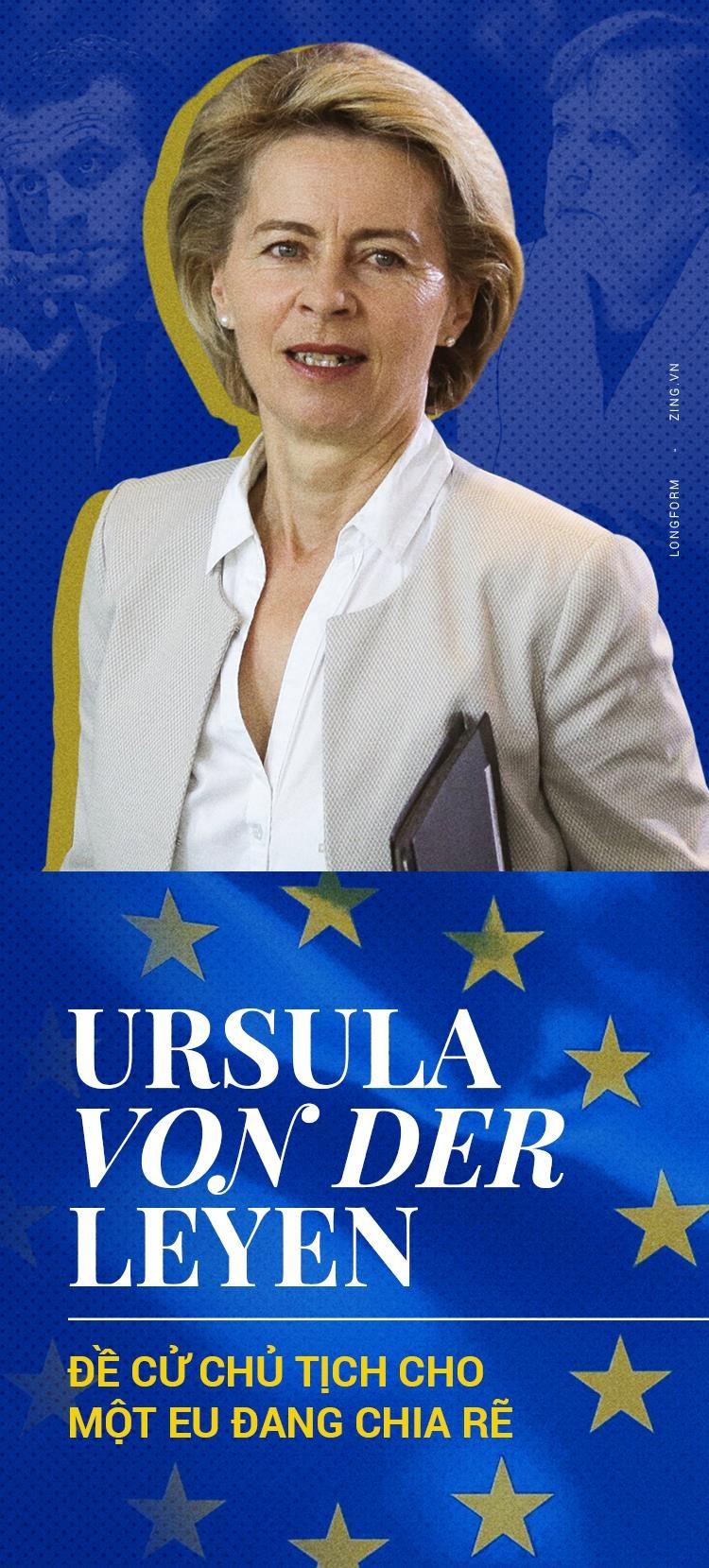 Ursula von der Leyen - 'nu tuong' moi cua mot EU day chia re? hinh anh 1