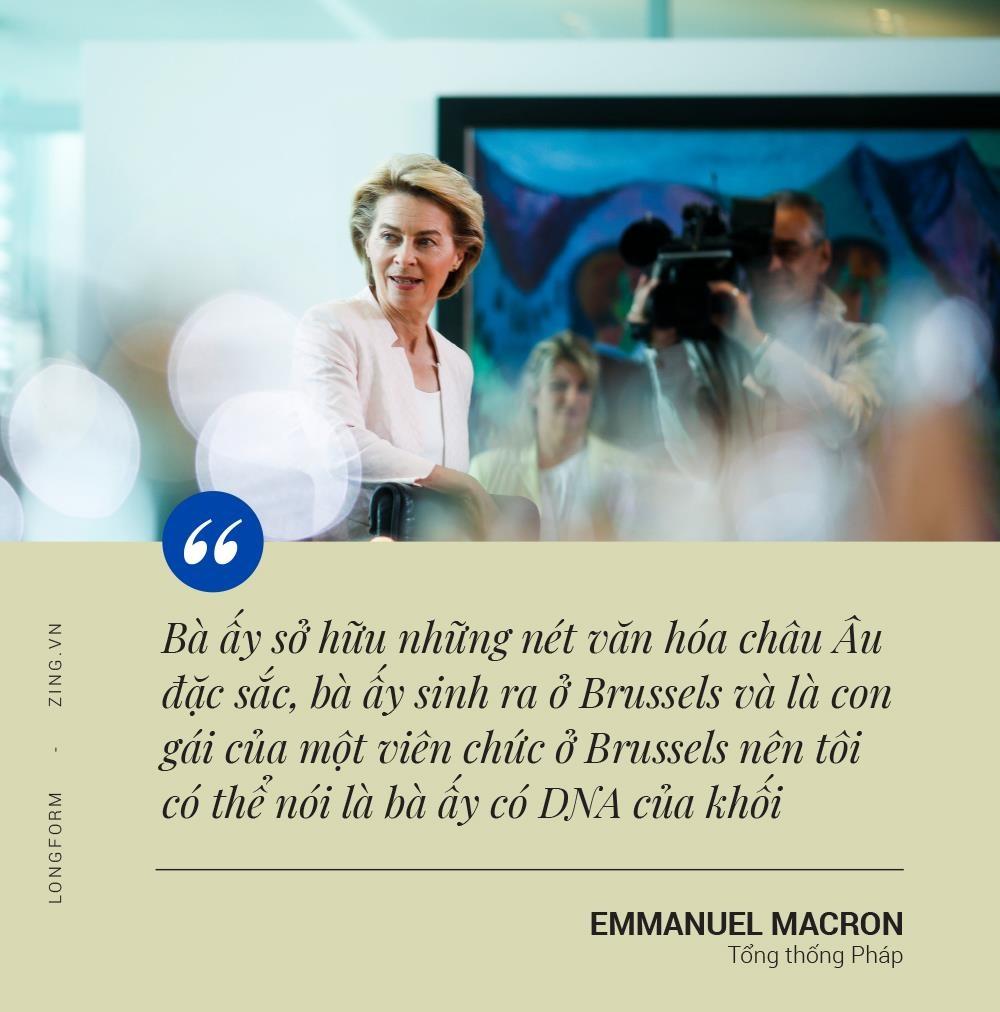 Ursula von der Leyen - 'nu tuong' moi cua mot EU day chia re? hinh anh 6