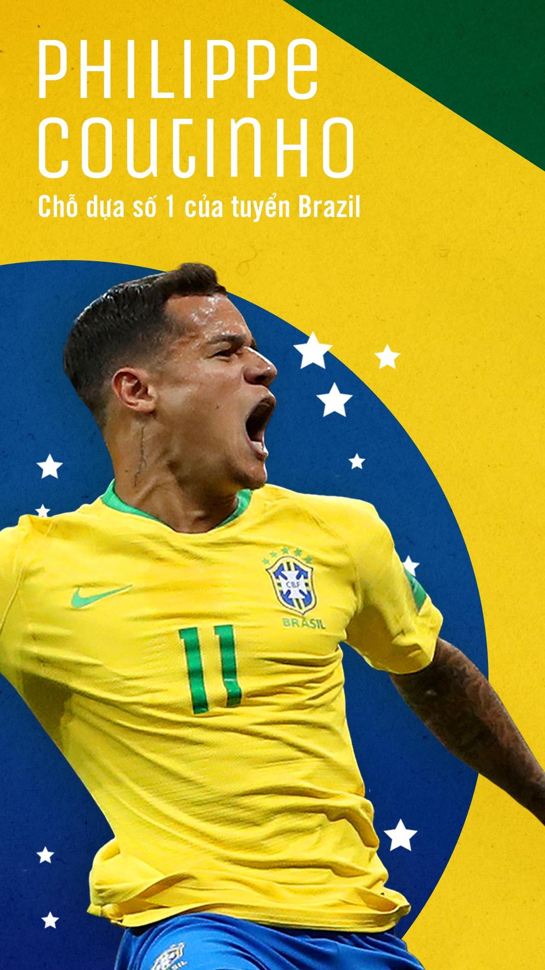 Philippe Coutinho: Cho dua so 1 cua tuyen Brazil hinh anh 1