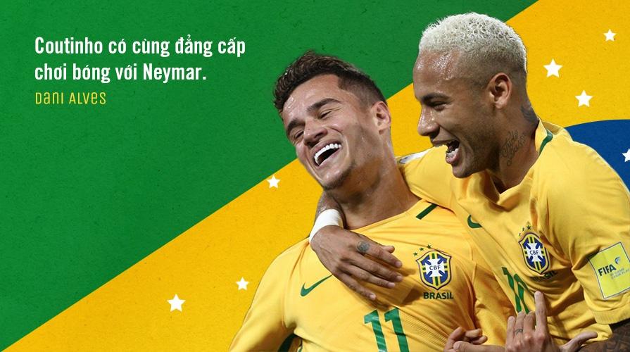 Philippe Coutinho: Cho dua so 1 cua tuyen Brazil hinh anh 9