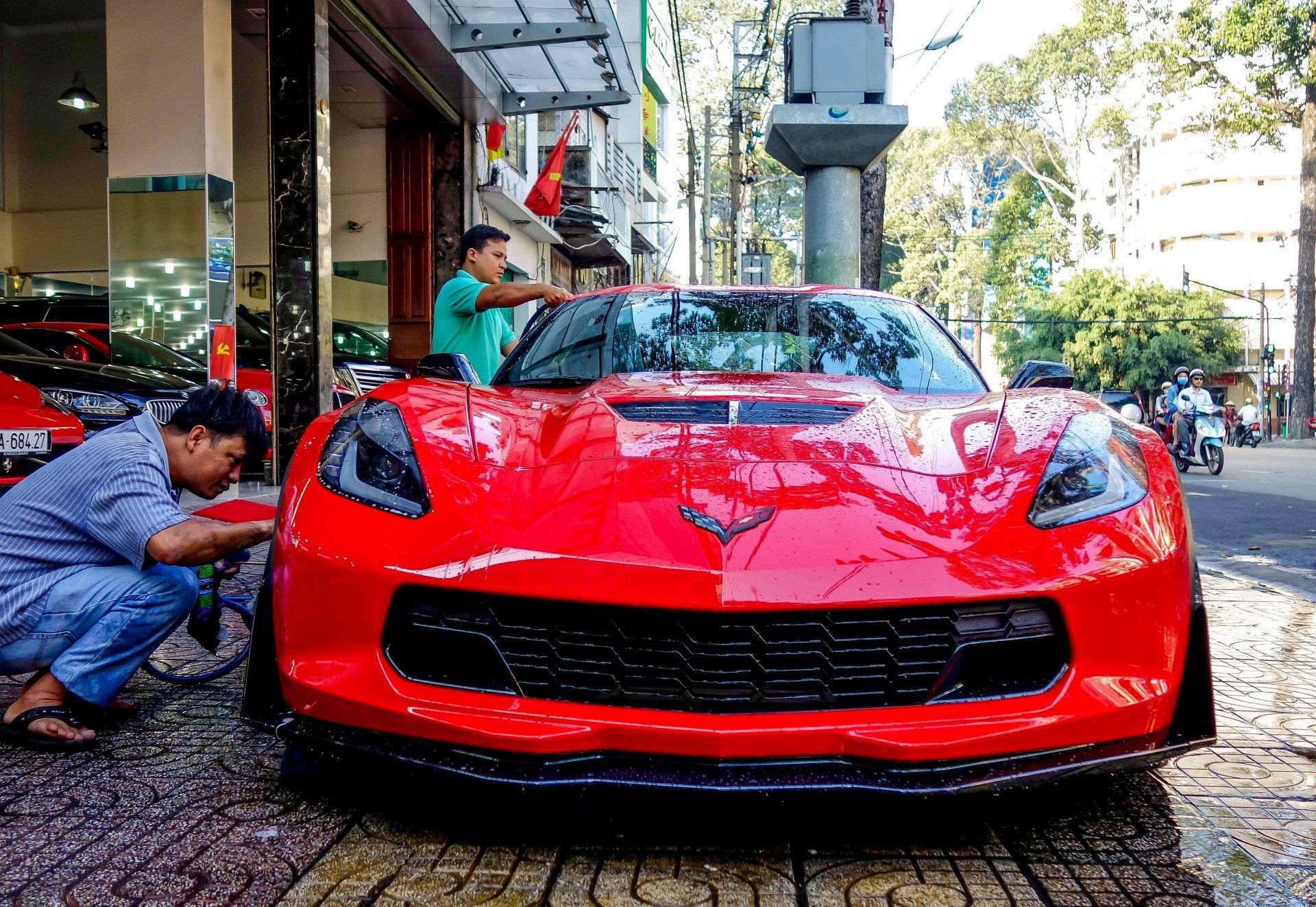 Chevrolet Corvette Z06 ve Viet Nam gia tren 6 ty dong hinh anh 4