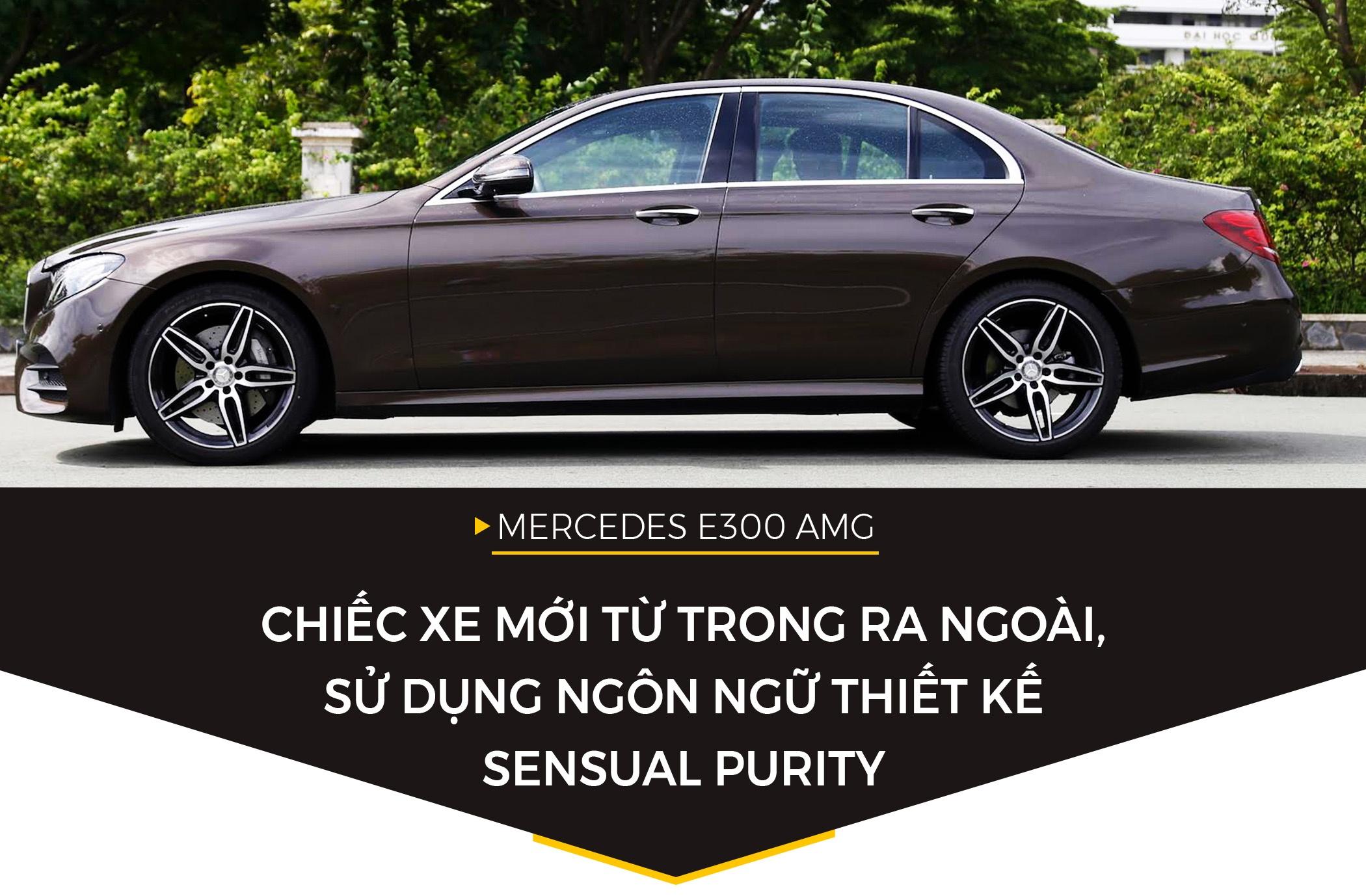 Mercedes E300 AMG - sedan hang sang gia 3 ty dong tai Viet Nam hinh anh 2