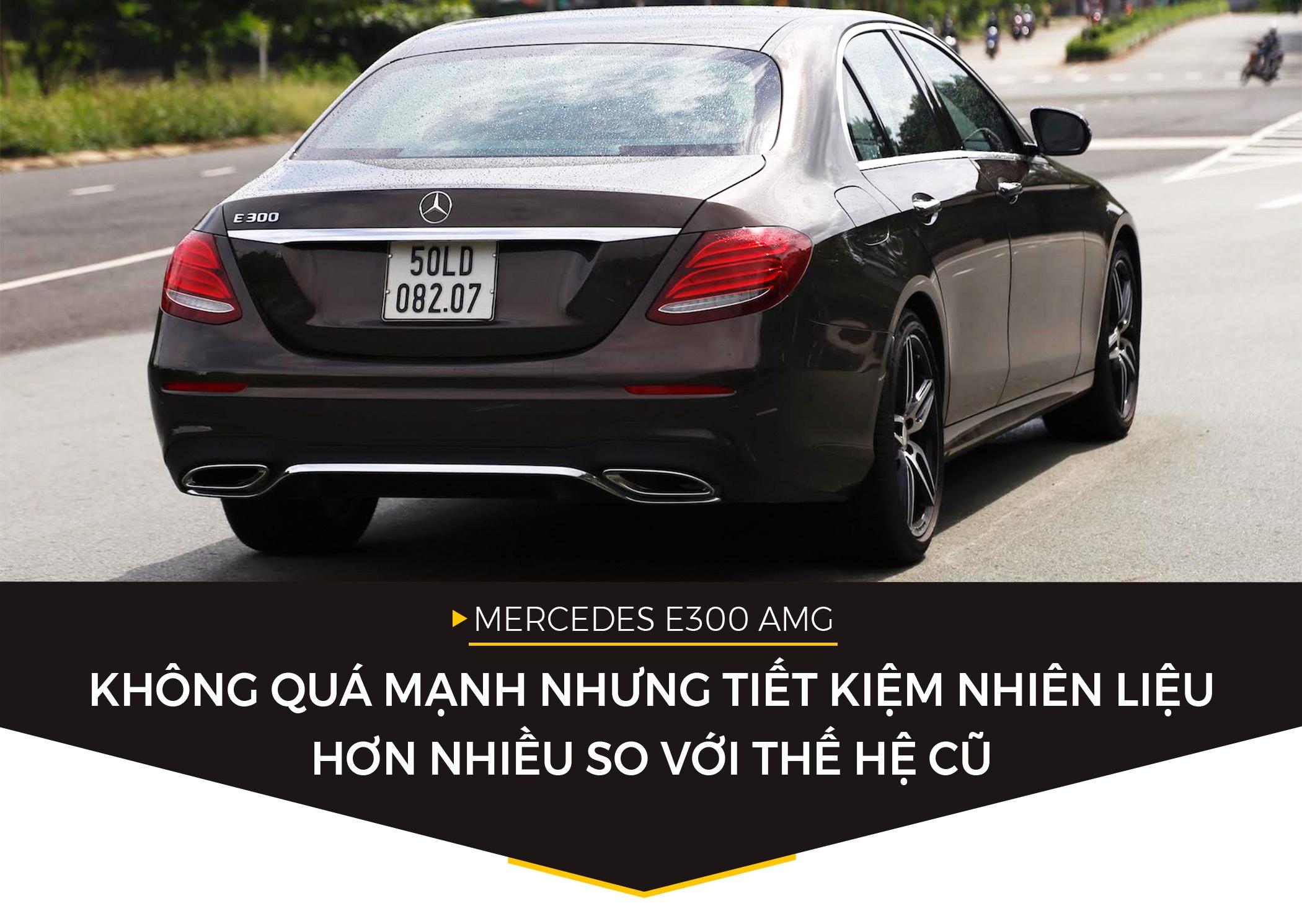 Mercedes E300 AMG - sedan hang sang gia 3 ty dong tai Viet Nam hinh anh 5