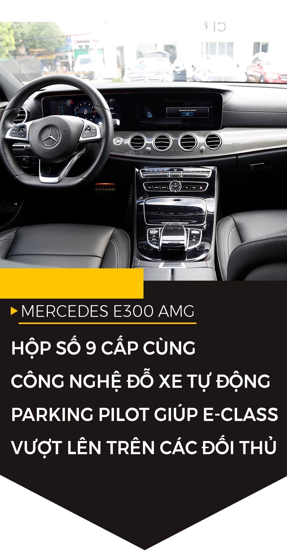 Mercedes E300 AMG - sedan hang sang gia 3 ty dong tai Viet Nam hinh anh 7
