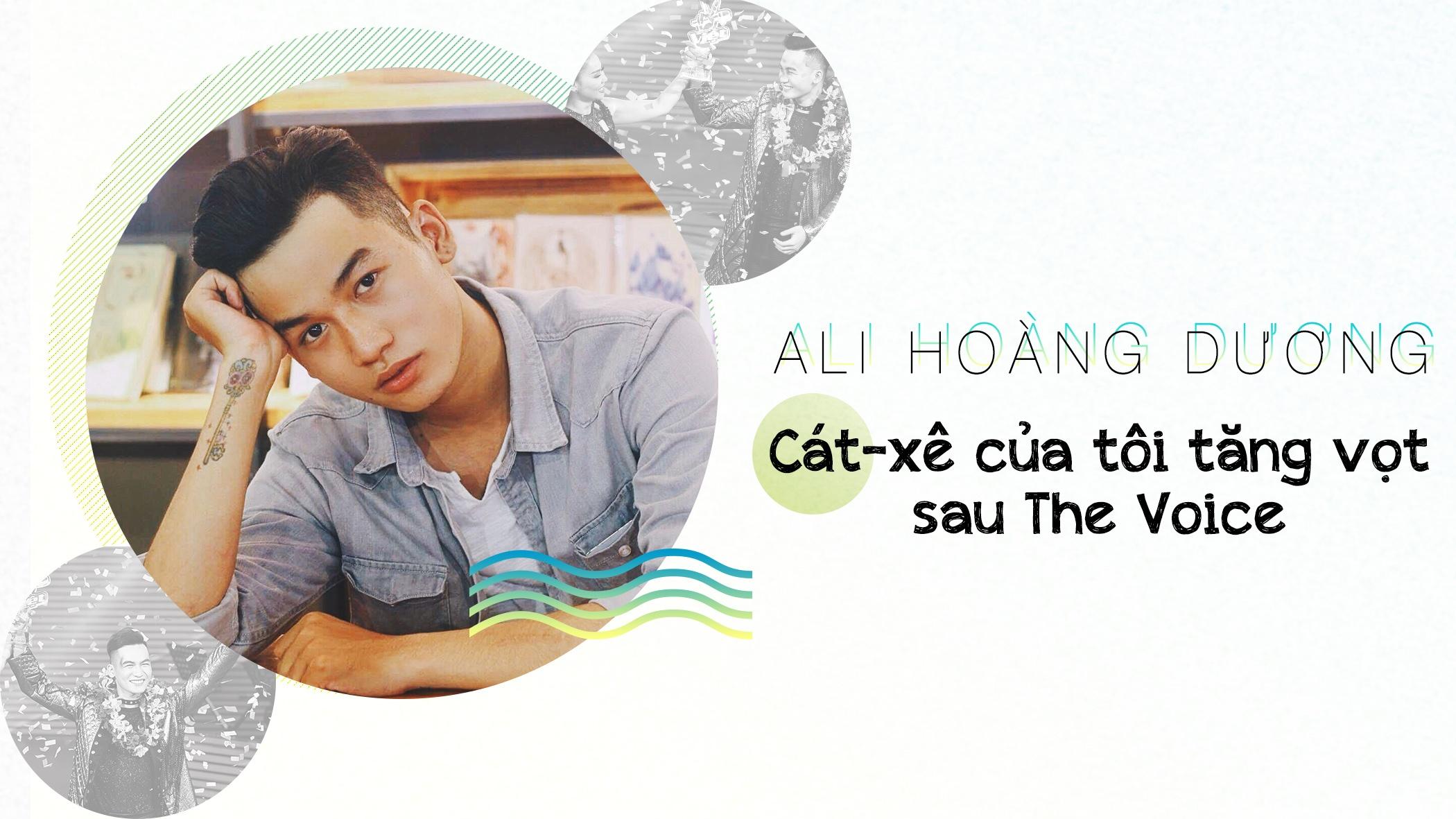 Ali Hoang Duong: 'Cat-xe cua toi tang vot sau The Voice' hinh anh 1