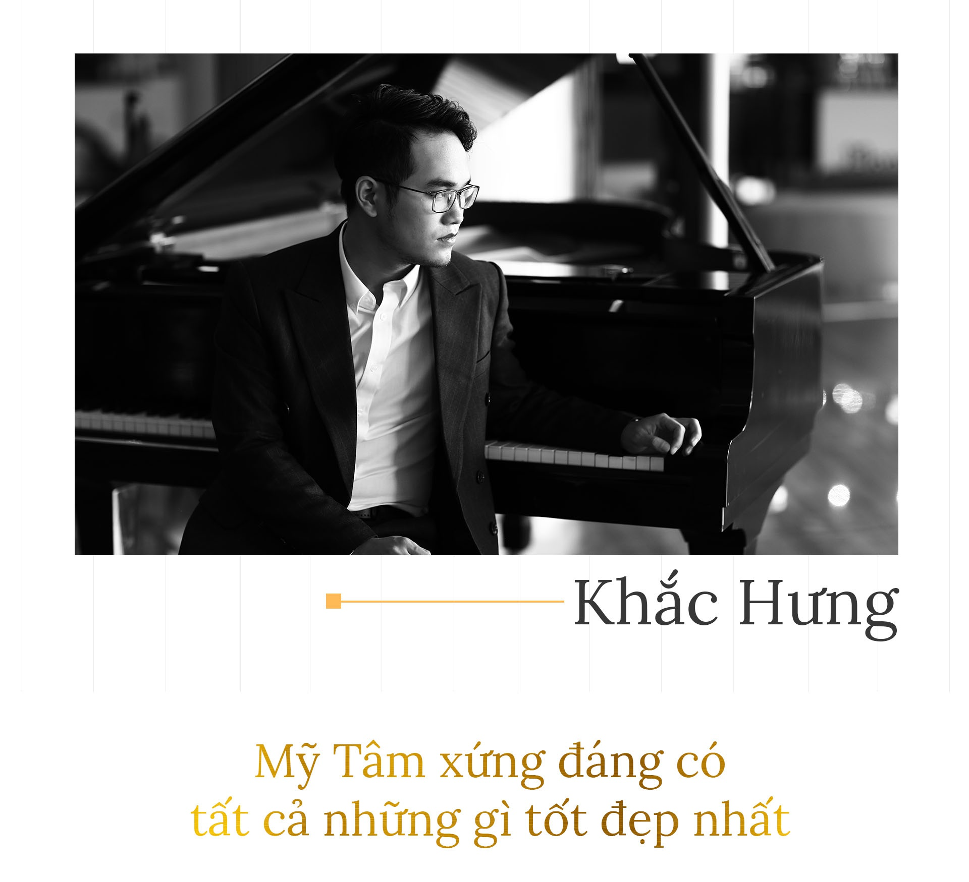 Khac Hung: 'My Tam xung dang co tat ca nhung gi tot dep nhat' hinh anh 2