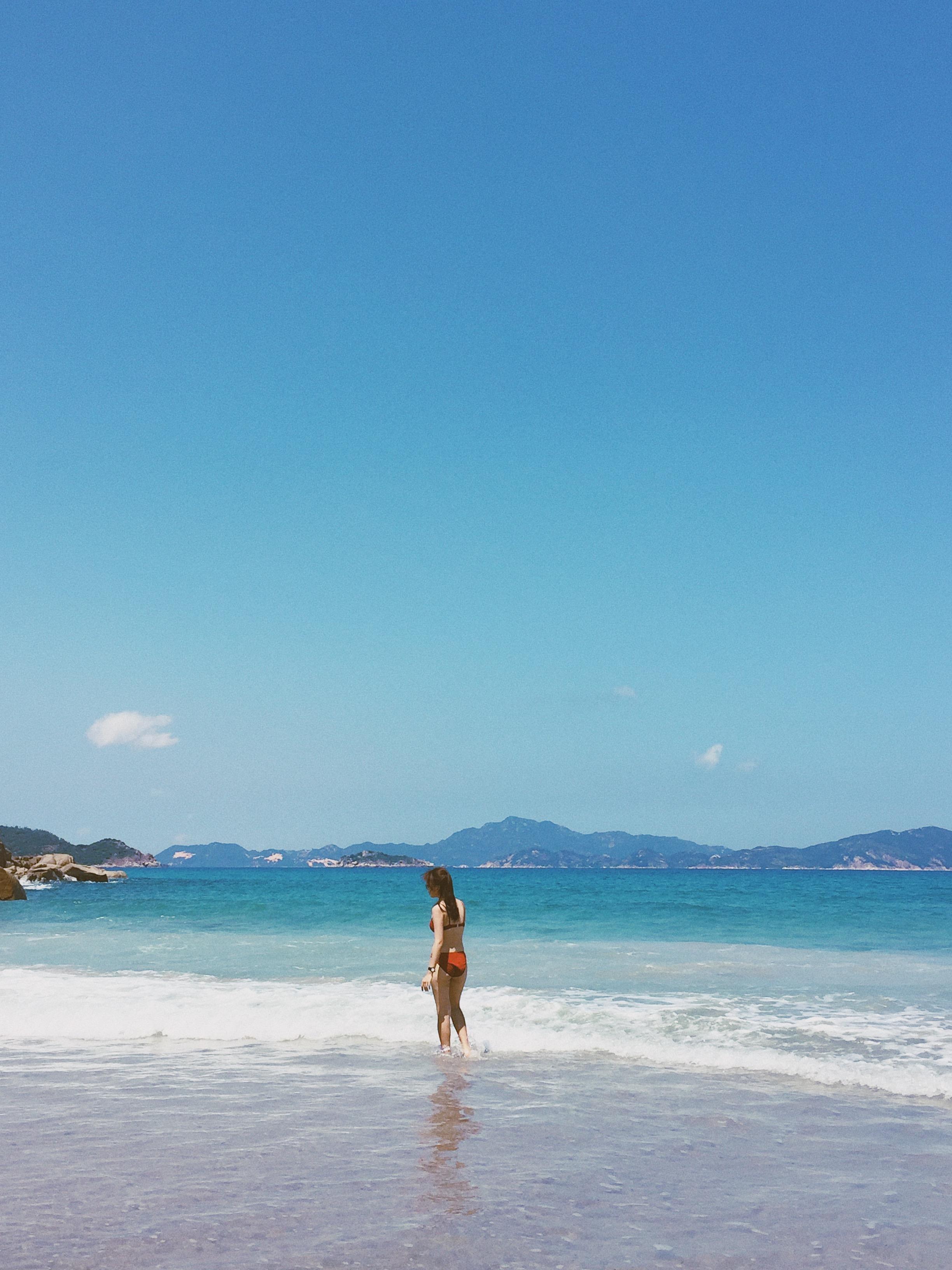 Nap 'vitamin sea' o thien duong bien Binh Hung dip nghi le hinh anh 18