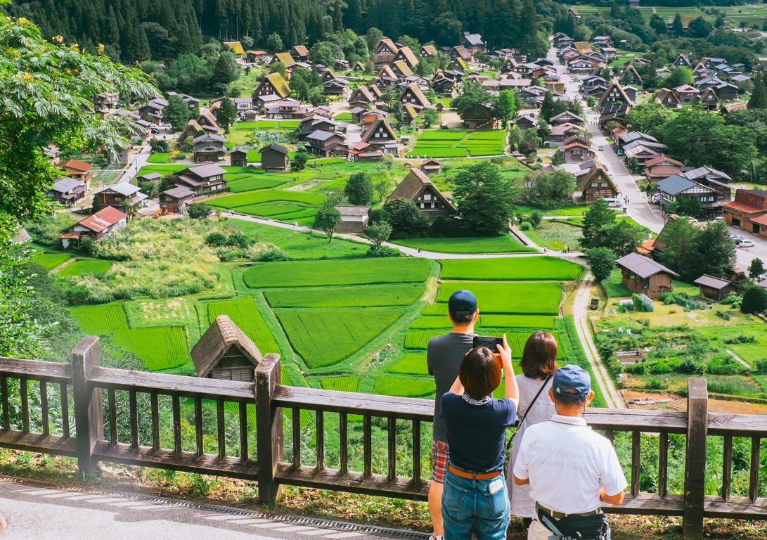 Shirakawa Japanese village you 27