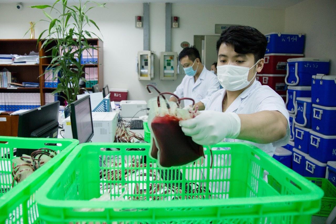 Hà Nội chi viện gấp 1.000 đơn vị máu cho Bệnh viện Chợ Rẫy