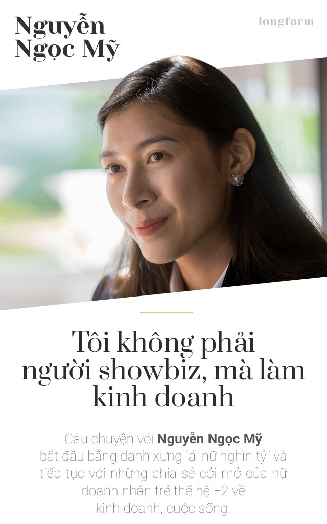 Nguyen Ngoc My: 'Toi khong phai nguoi showbiz, ma lam kinh doanh' hinh anh 1