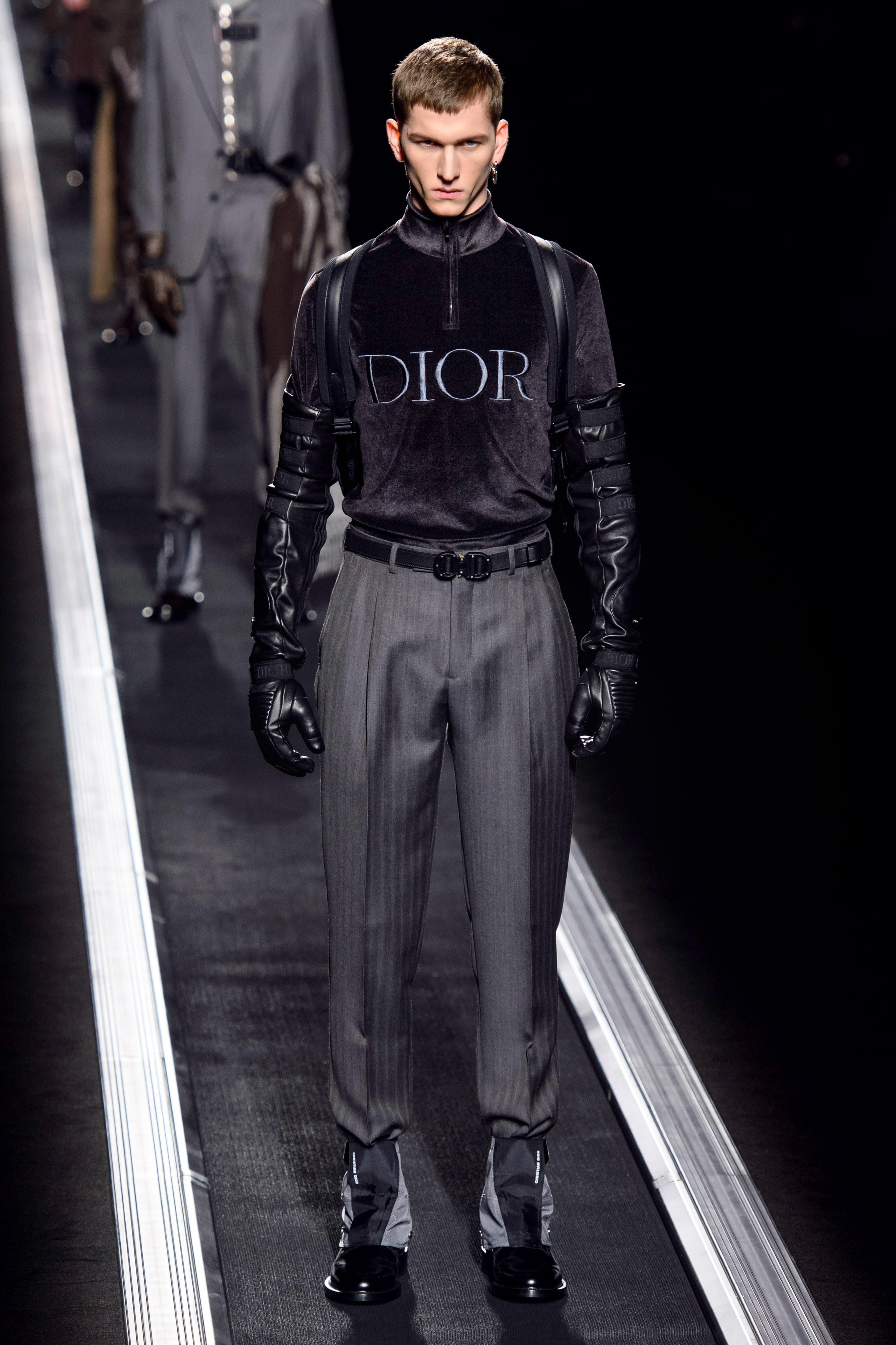 Thoi trang nam Dior Thu - Dong 2019 dep tinh te khong theo xu huong hinh anh 6