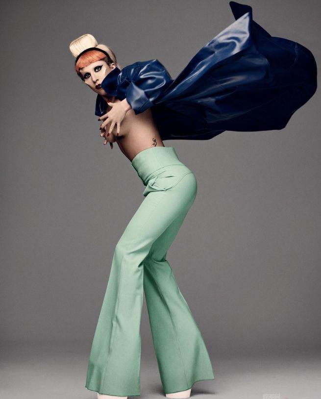 Phong cach thoi trang Lady Gaga anh 4