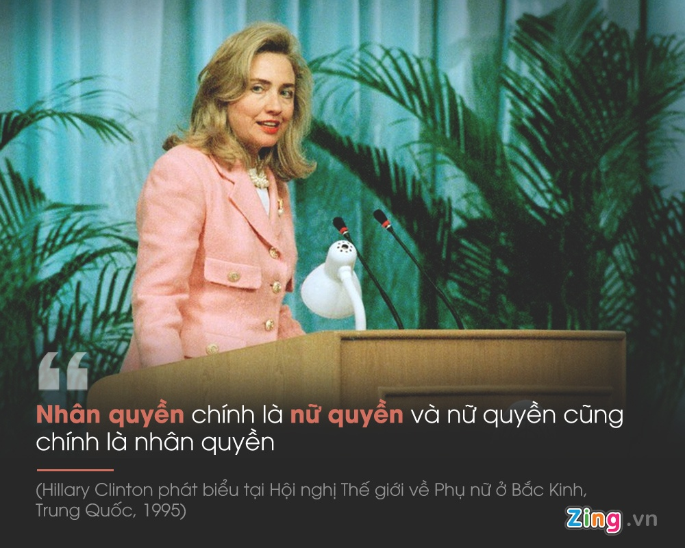 Hillary Clinton: Hanh trinh nua the ky cua nu quyen hinh anh 7