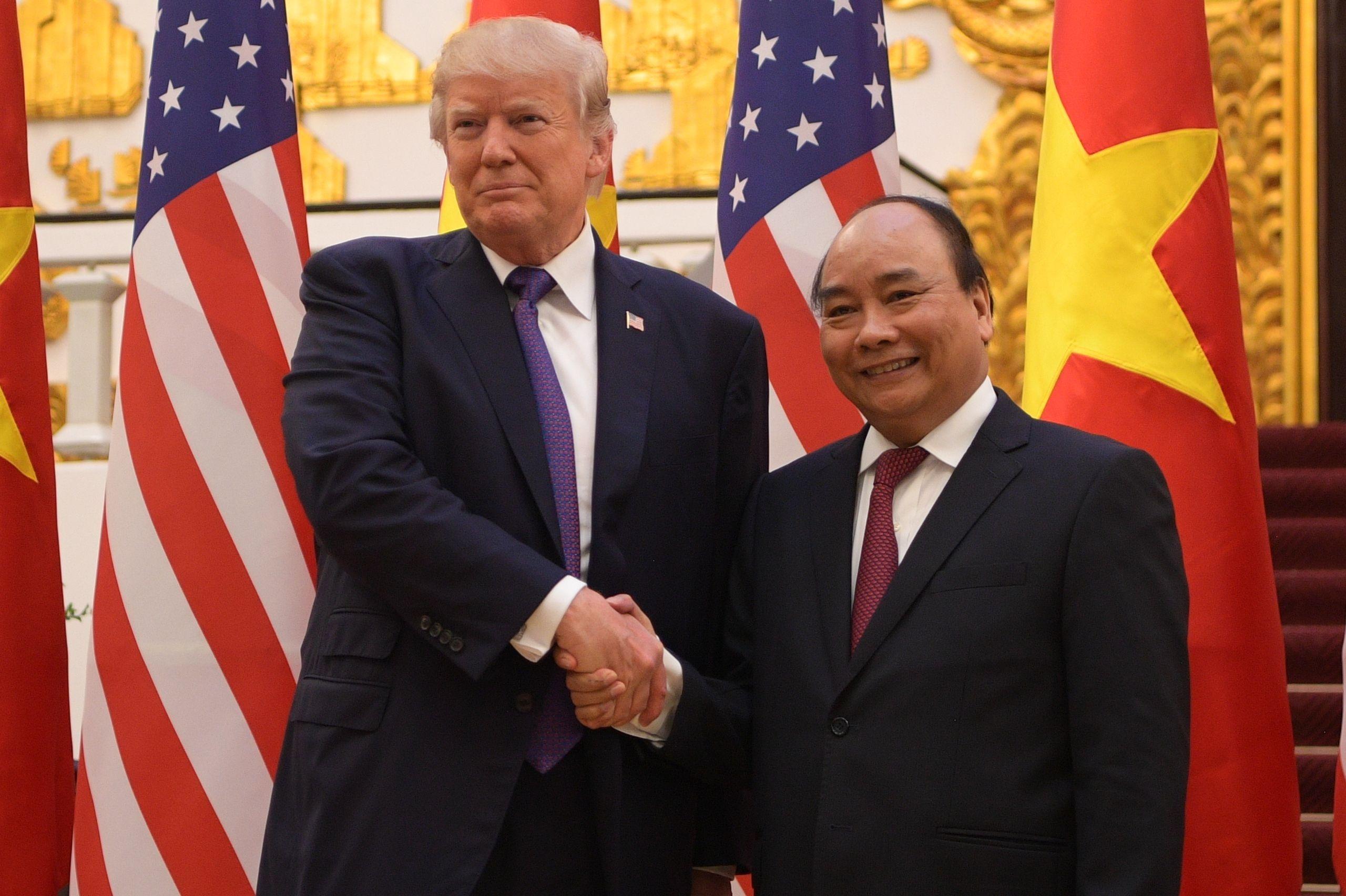 TT Trump toi VN: 'Quan he Viet - My phat trien qua nhanh, vuot bac' hinh anh 6