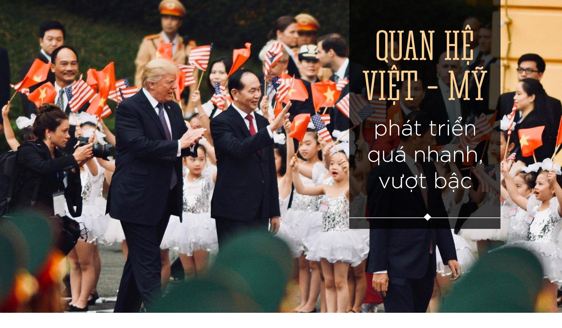 TT Trump toi VN: 'Quan he Viet - My phat trien qua nhanh, vuot bac' hinh anh 2