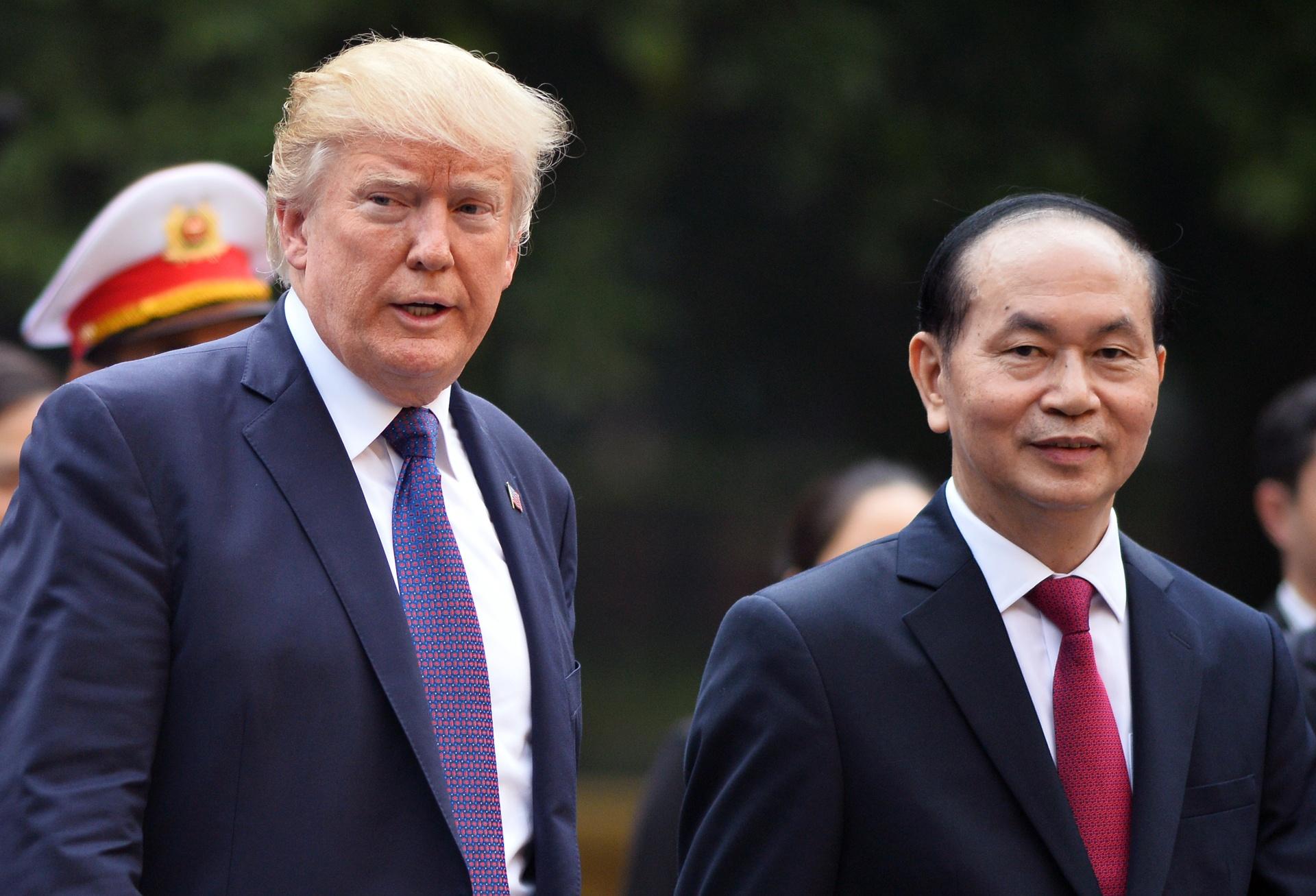 TT Trump toi VN: 'Quan he Viet - My phat trien qua nhanh, vuot bac' hinh anh 4