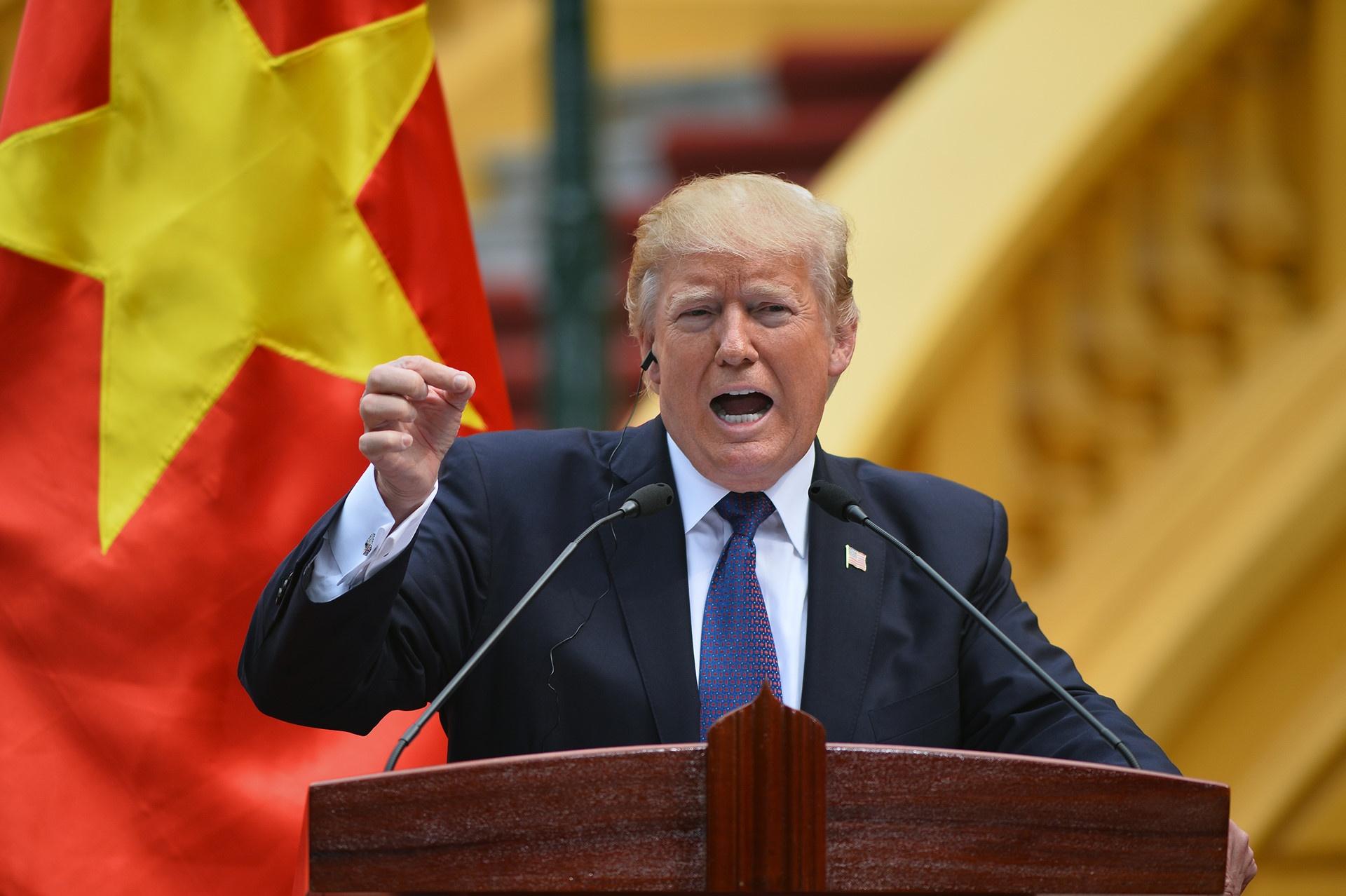 TT Trump toi VN: 'Quan he Viet - My phat trien qua nhanh, vuot bac' hinh anh 7