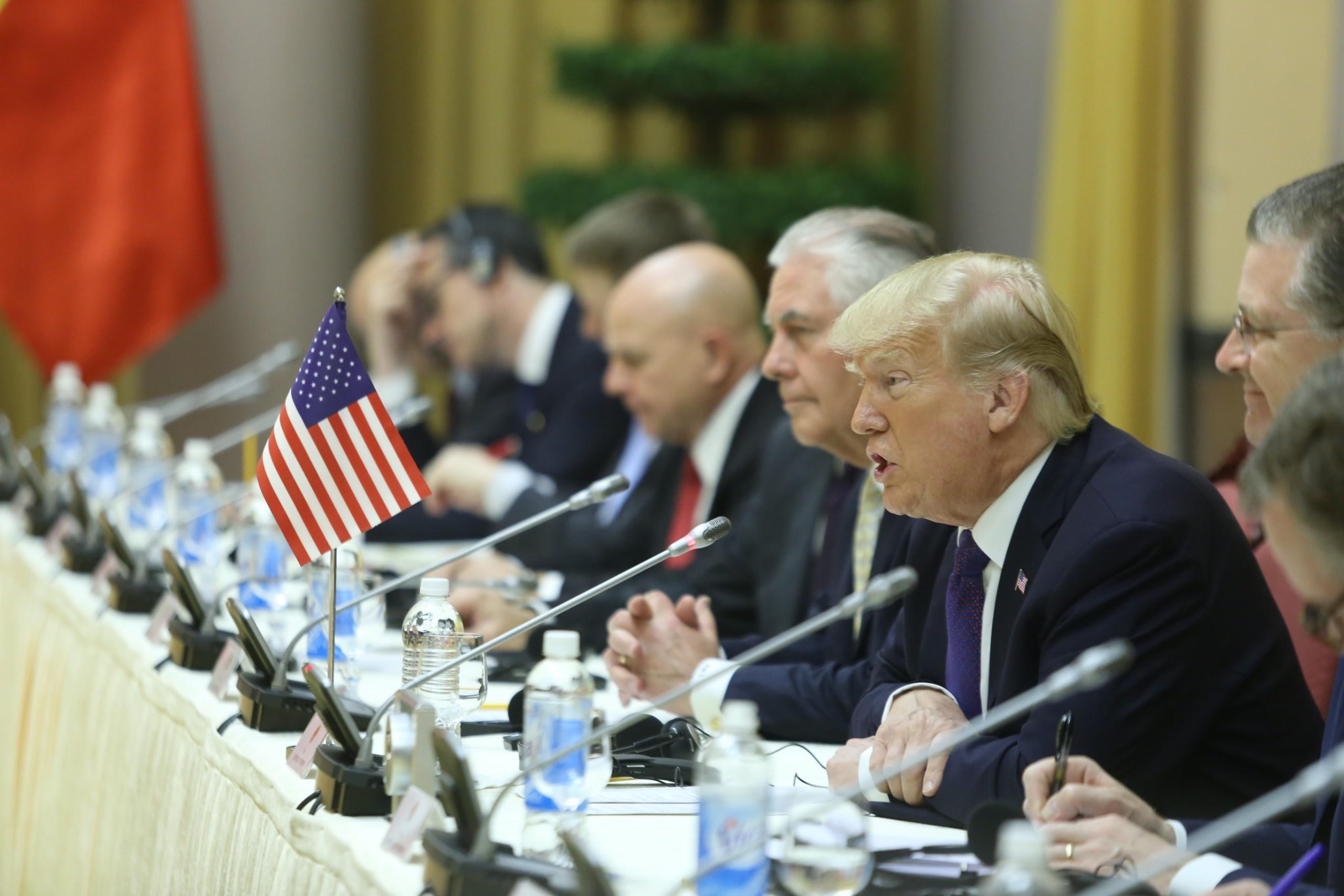 TT Trump toi VN: 'Quan he Viet - My phat trien qua nhanh, vuot bac' hinh anh 12