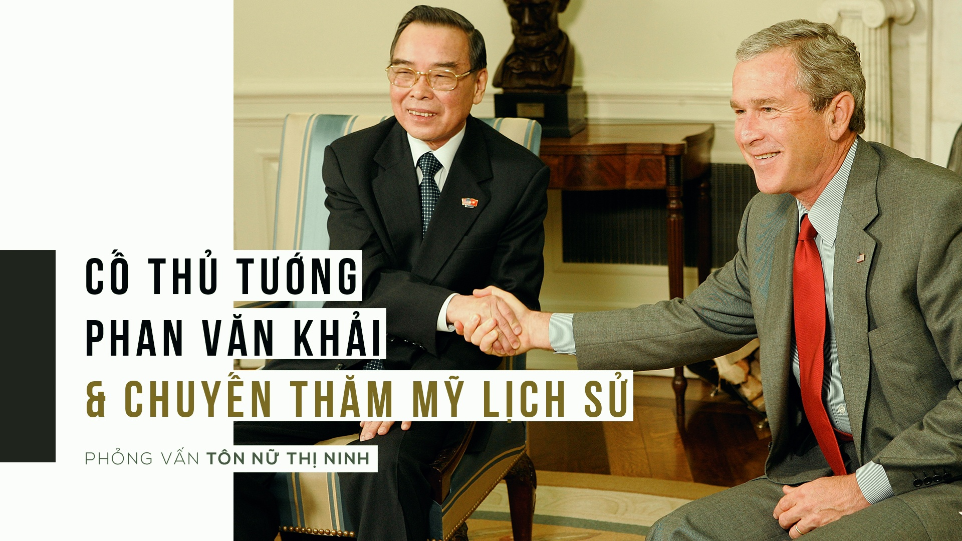 Tu chuyen di lich su cua TTg Phan Van Khai, nhin lai quan he Viet - My hinh anh 1