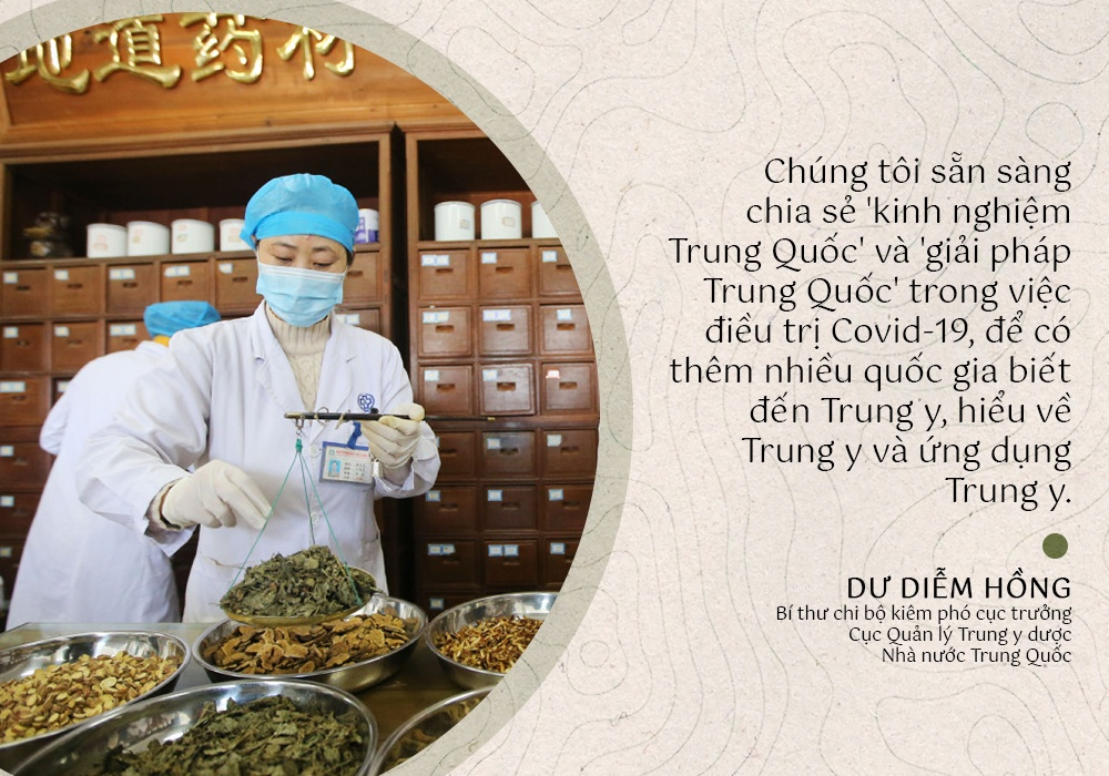 trung quoc dung dong y chua tri covid-19 anh 1