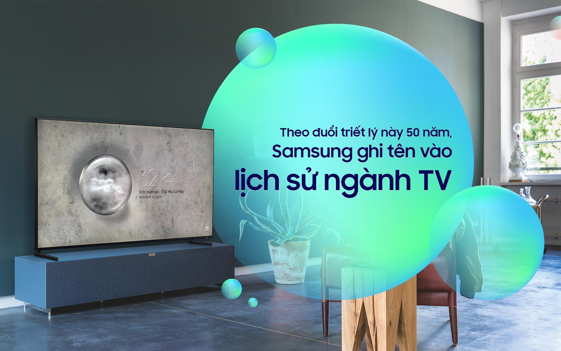 Theo duoi triet ly nay 50 nam, Samsung ghi ten vao lich su nganh TV hinh anh 2