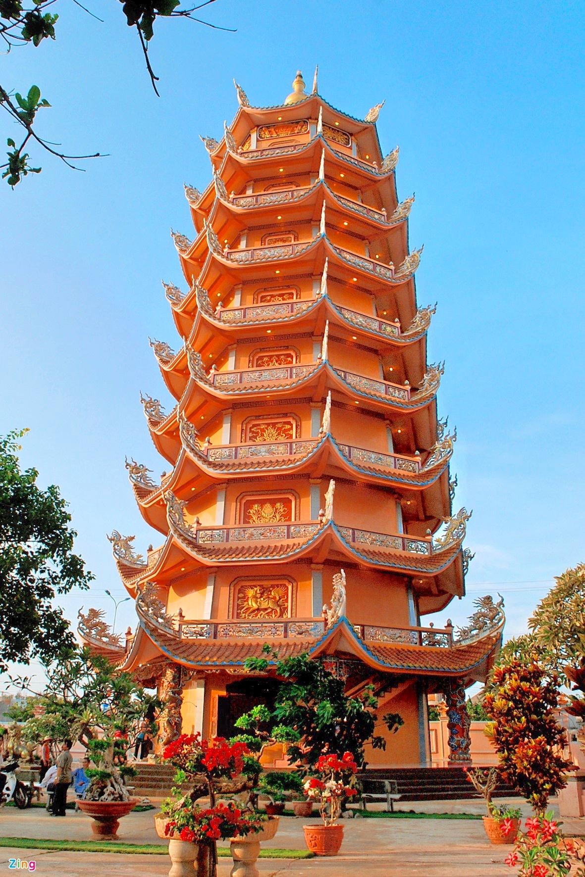 - 4_2_1 - Loạt tháp chùa đạt kỷ lục ở Việt Nam