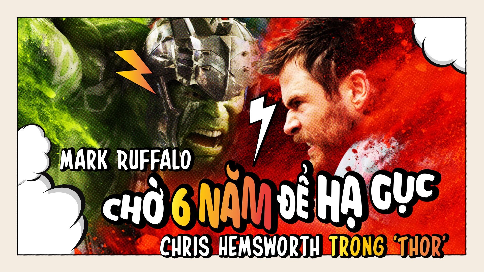 Mark Ruffalo cho 6 nam de ha guc Chris Hemsworth trong 'Thor' hinh anh 2