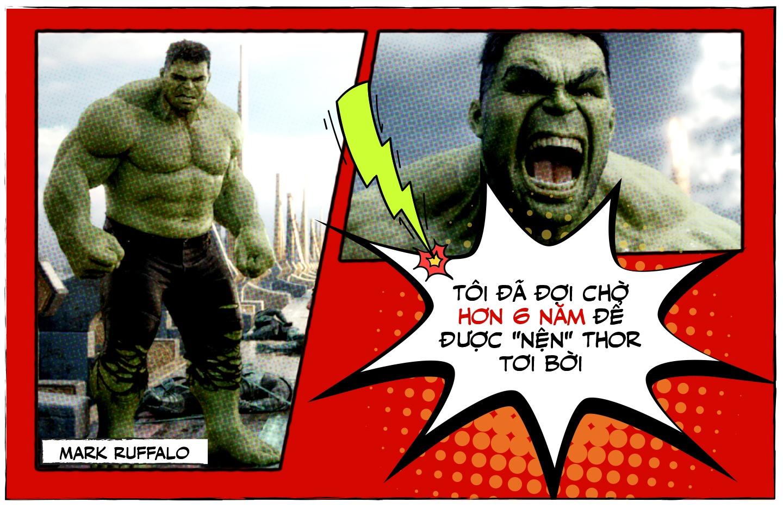 Mark Ruffalo cho 6 nam de ha guc Chris Hemsworth trong 'Thor' hinh anh 12