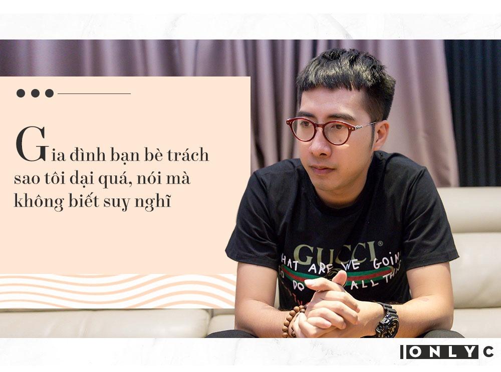 Only C: 'Phai nghe nhung loi mat sat, vu khong ve minh moi ngay' hinh anh 7