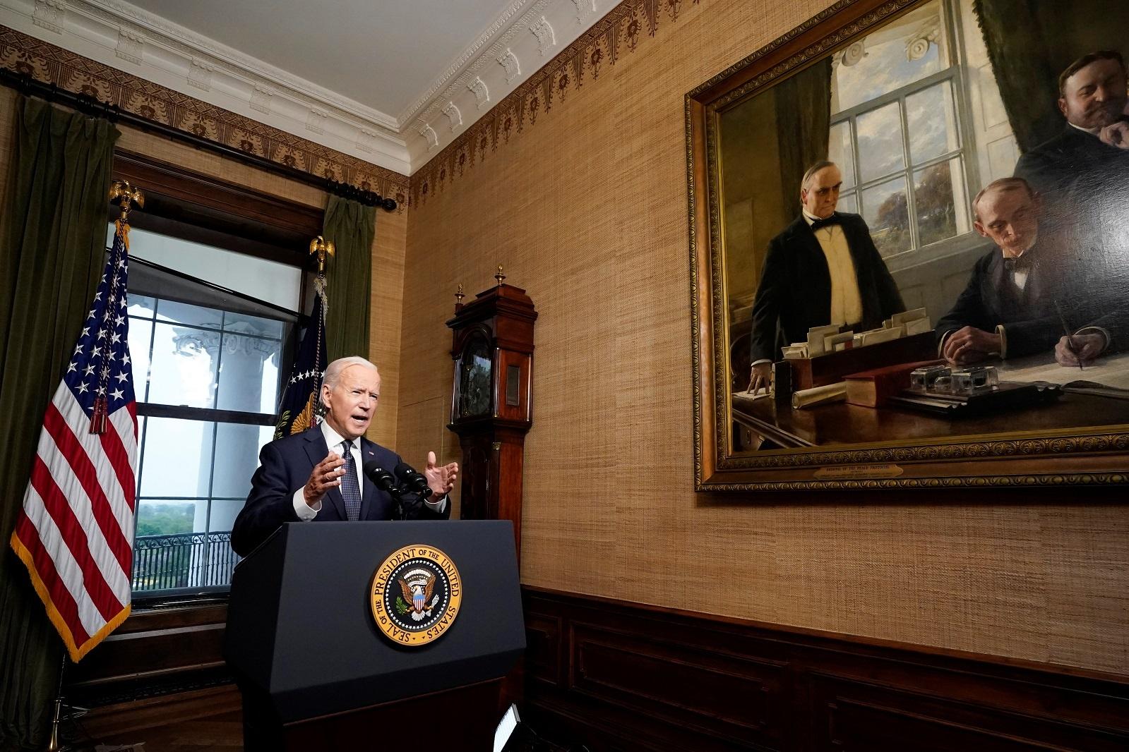 Biden thong bao rut quan khoi Afghanistan anh 3