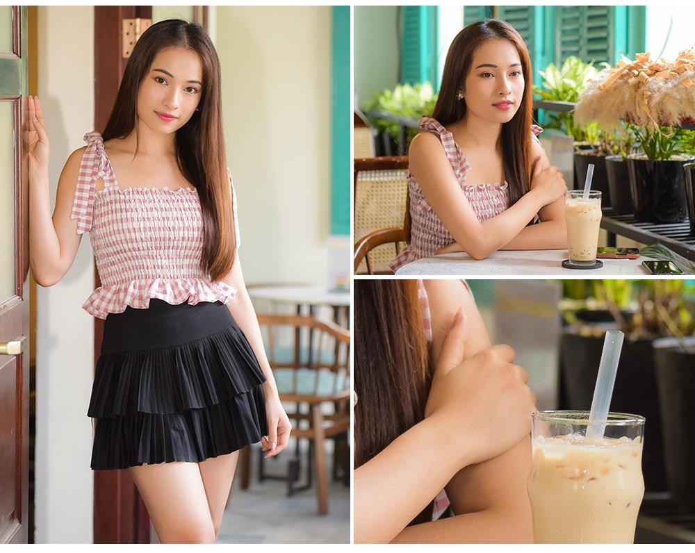 Sara Luu: '6 thang yeu Duong Khac Linh, toi da nghi toi hon nhan' hinh anh 18