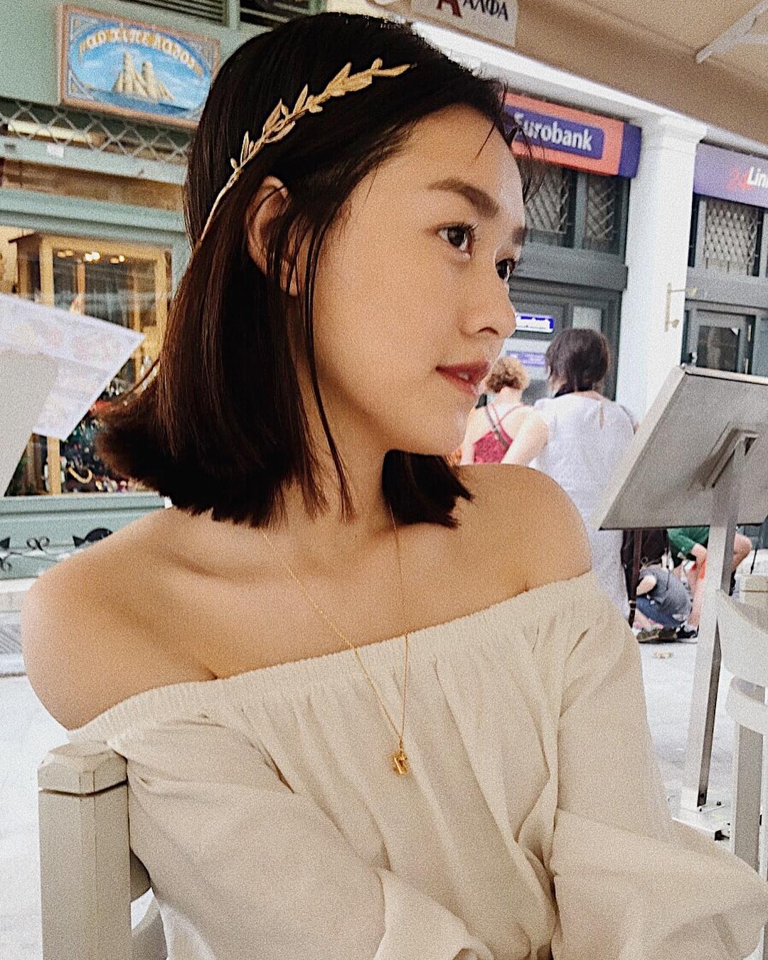 Tuong San - tu hot girl mang den top 8 Hoa hau Quoc te hinh anh 8