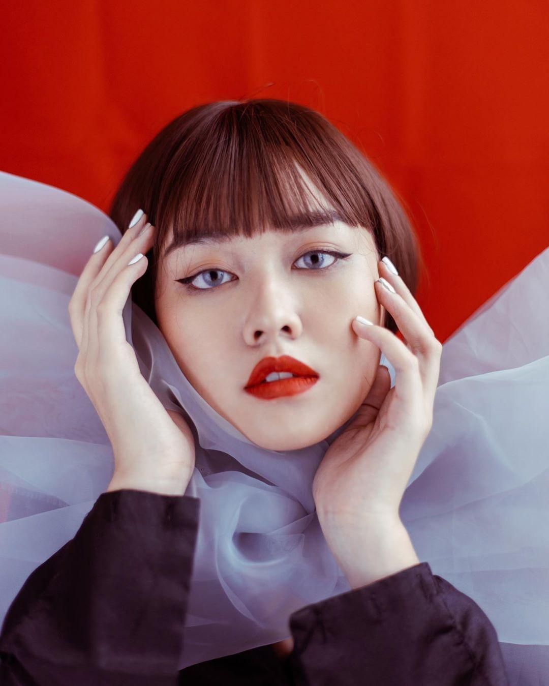 Tuong San - tu hot girl mang den top 8 Hoa hau Quoc te hinh anh 29