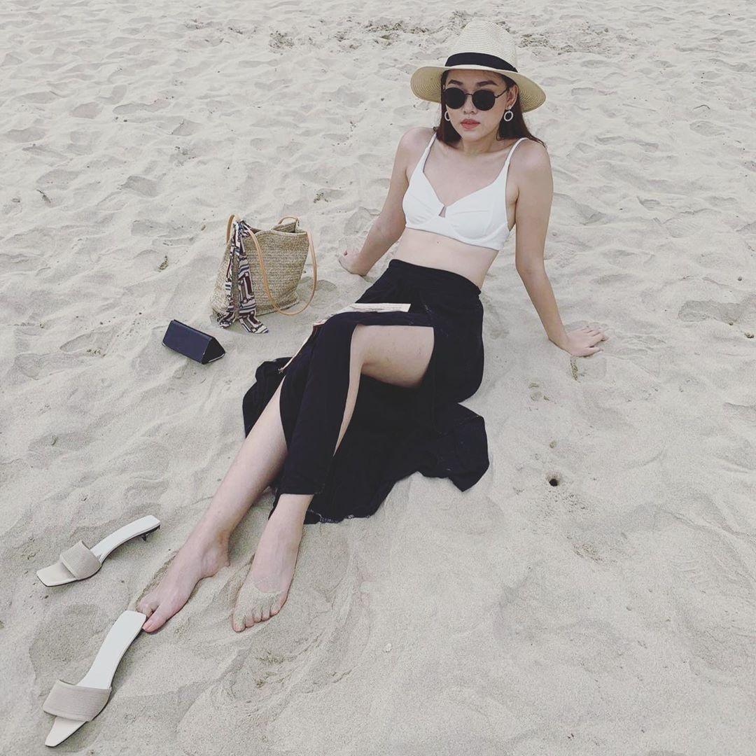 Tuong San - tu hot girl mang den top 8 Hoa hau Quoc te hinh anh 3