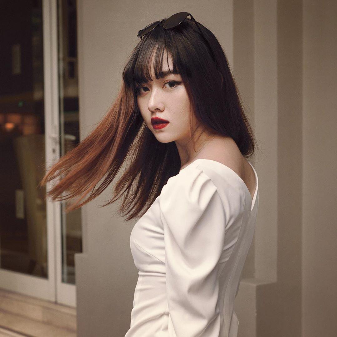 Tuong San - tu hot girl mang den top 8 Hoa hau Quoc te hinh anh 14