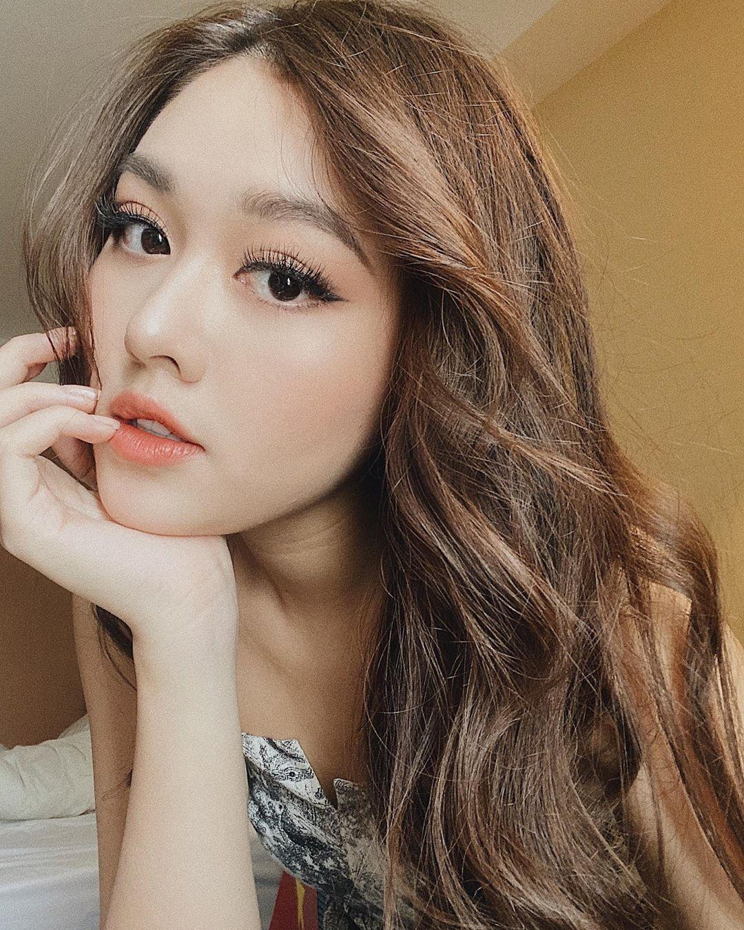 Tuong San - tu hot girl mang den top 8 Hoa hau Quoc te hinh anh 49