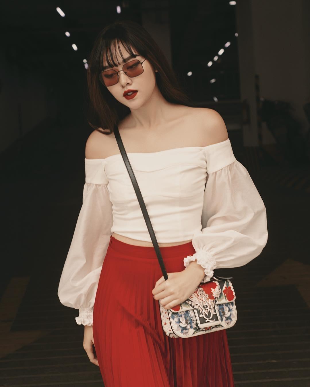 Tuong San - tu hot girl mang den top 8 Hoa hau Quoc te hinh anh 9