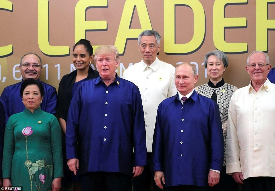 Nhat ky APEC 11/11: Ong Trump khong di 'The Beast' khi roi Da Nang hinh anh 5