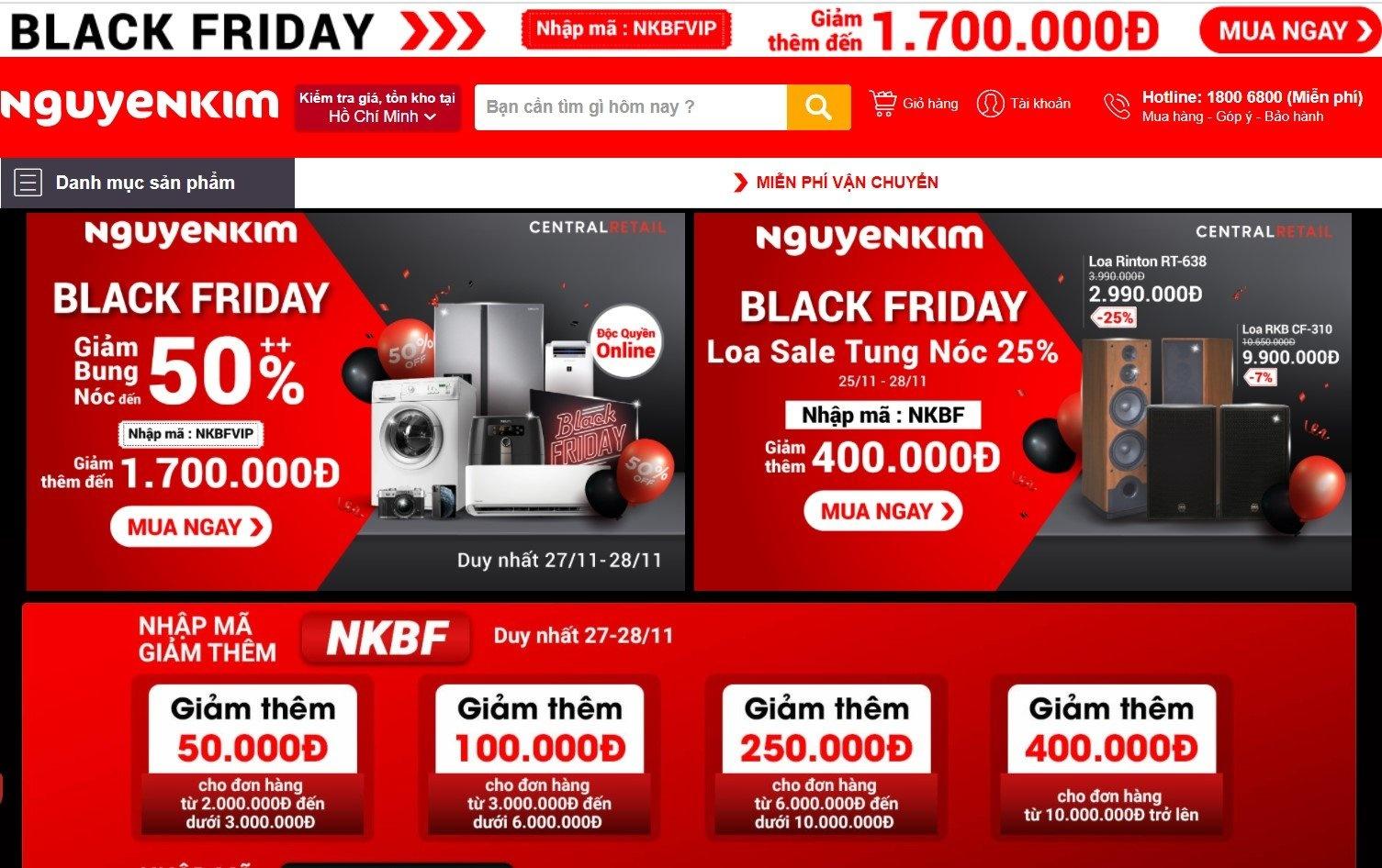 Black Friday,  mua sam,  deal Black Friday Viet Nam 2020 anh 2